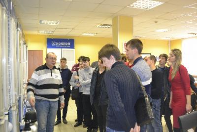 """В ООО """"Ксенон"""" прошёл день открытых дверей."""