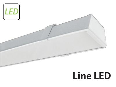 Новинка - светодиодный светильник для общественного освещения Line LED-03 42 Вт с магистральной проводкой.