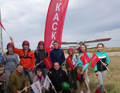 Работники НПО «Каскад» сдали экзамен на смелость