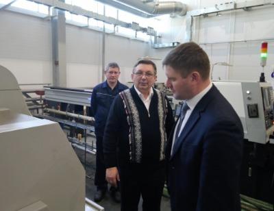 НПО «Каскад» посетила делегация Министерства промышленной политики Кировской области