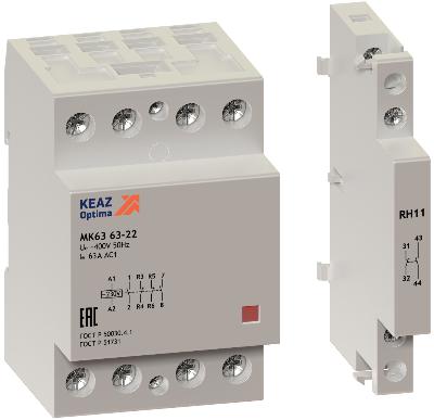 Модульные контакторы OptiDin MK63 работают при -45°С — доказано!