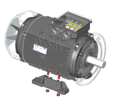 Высокоэффективные электродвигатели серии 7AVER160