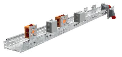 Монтажные пластины для листовых и лестничных лотков IEK® - усиленная конструкция и экономичное решение