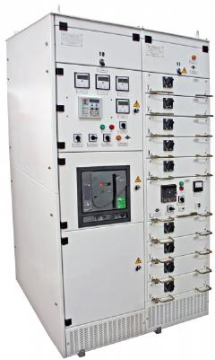 На нашем предприятии успешно освоены в производстве КОМПЛЕКТНЫЕ РАСПРЕДЕЛИТЕЛЬНЫЕ УСТРОЙСТВА КРУ-МЭТЗ-0, 4 модульной конструкции