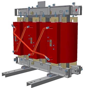 Изготовлены опытные образцы сухих распределительных трансформаторов ТСЛ мощностью 25-160кВА с применением обмоток ВН собственного производства.