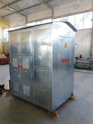 Начато производство КТПН в оцинкованном корпусе.