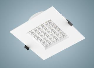 Светодиодный светильник серии ДВО55 DLQ.