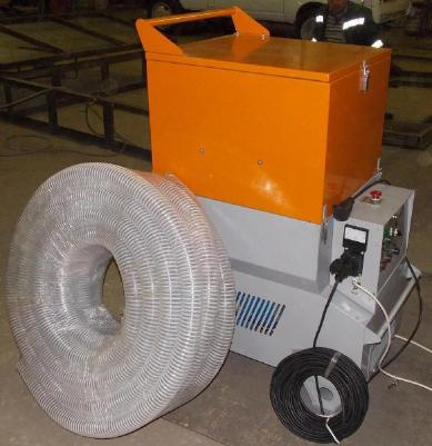 Испытания выдувной установки МН-800М для монтажа эковаты