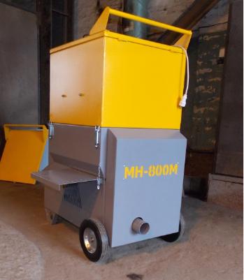Профессиональные выдувные установки МН-800М для монтажа эковаты - комплектация для больших объектов