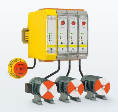 Модульные гибридные пускатели электродвигателей