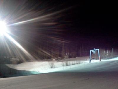 Впервые плазменный прожектор за полярным кругом