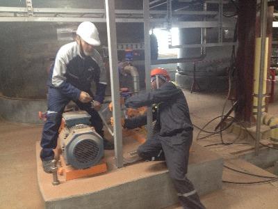 Электромонтажные работы в Заполярье