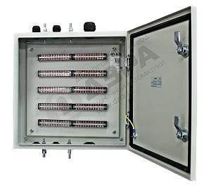 Шкаф телефонный шахтный серии ШТШ