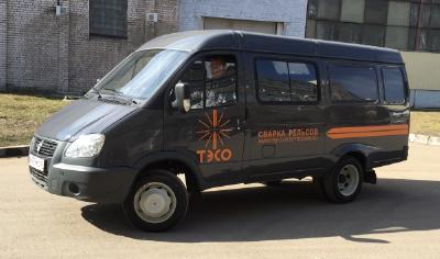 Новый транспорт для сервисной службы ЗАО «Псковэлектросвар»