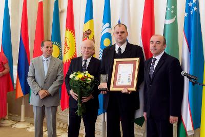 В штаб-квартире СНГ ПАО «Одескабель» поздравили с победой в конкурсе качества