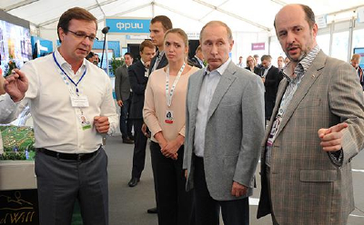 Владимир Путин обсудил с ГК «Системы и Технологии» развитие умных городов