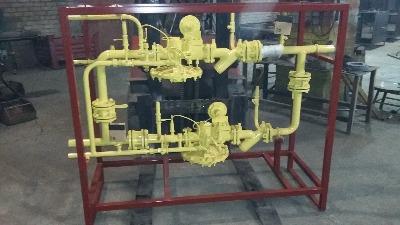 Газорегуляторная установка ГРУ-13-2ВУ1