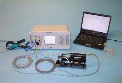 Определение места замыкания листов активного железа статора во вращающихся машинах (прибор ELCID Iris Power)