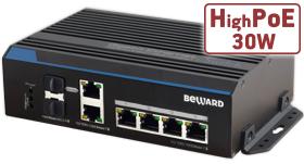 BEWARD представляет: выпущен новый коммутатор STP-411 HP