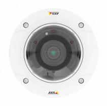 Новая многопотоковая 2 Мп купольная IP-камера марки AXIS для круглосуточного видеоконтроля в помещении