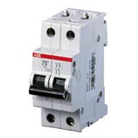 Автоматический выключатель S 202 C 2P 2 A 6 кА ABB -5 шт в упаковке