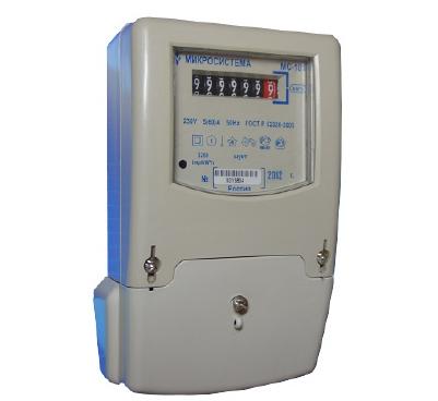 Счетчик электроэнергии однофазный «МС-101 1, 0М5(60)Н2ВК»