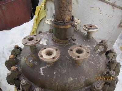 Реактор химический 0, 63м3; 0, 25м3; 0, 4м3 н/ж