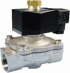 Электромагнитный клапан 2W12 (соленоидный клапан) НО прямого действия.