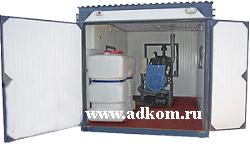 Дизель-генераторы и дизельные электростанции в блок-контейнере Север