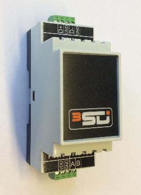 Modbus RS485 - DMX конвертер