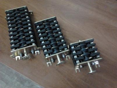 Блок-контакты КСА-2, КСА-4, КСА-6, КСА-8, КСА-10, КСА-12