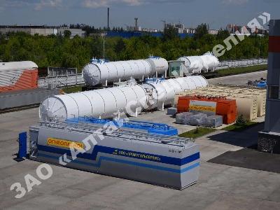 АЗС: контейнерные, модульные, блочные, мобильные, персональные