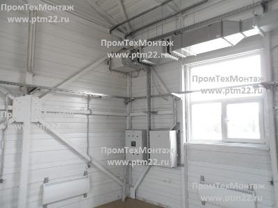 Монтаж систем вентиляции, отопления, водоснабжения, электромонтажные, строительные работы