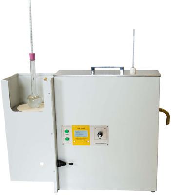 МХ-1000И Ручной аппарат для разгонки нефтепродуктов, с функцией автоматического повтора анализа.