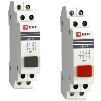 Кнопки модульные КМ-47 доступны для заказа