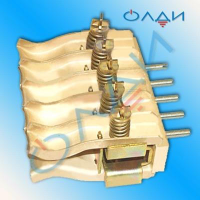Розетка К 12 контактная К-12 1600А ламель «лодочка» крун кру к12