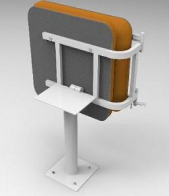 Сиденье машиниста крана КР-1 (с складной спинкой)