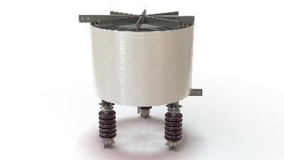 Реактор РТСТГ сухие трехфазные токоограничивающие горизонтальной установки для электросетей 6 - 330 кВ