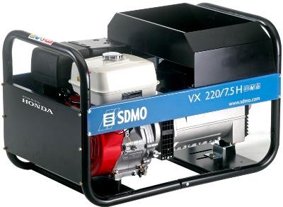 Сварочный бензиновый агрегат SDMO VX 220/7, 5H