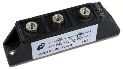 Модули оптотиристорные МТОТО80-12-3И