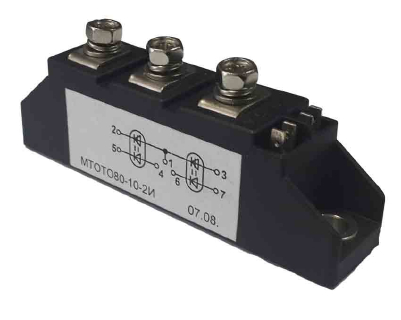 Модули оптотиристорные МТОТО80-10-2И