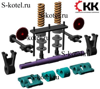 Устройство амортизирующее дробилки ДДЗ-4 и запасные части