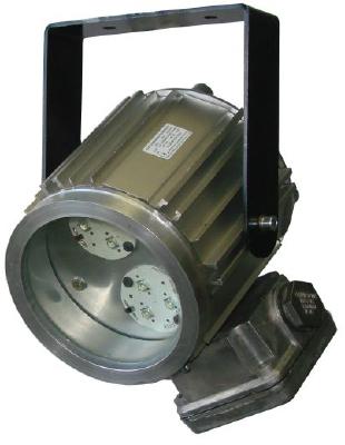 Светодиодный взрывозащищенный светильник Эмлайт спот Д-6, Эмлайт спот Д-12, Эмлайт спот Д-18, Эмлайт спот Д-24, Эмлайт спот Д-27, Эмлайт спот Д-36, Эмлайт спот Д-40, 1ЕхdsIIСТ6Х, IP65