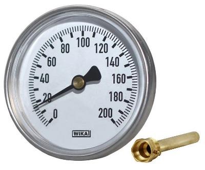 Термометры WIKA алюминий биметаллические Тип А50