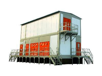 Комплектная трансформаторная подстанция в блочно модульном исполнении КТП УХЛ1 серии