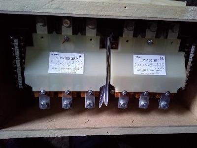 Контакторы вакуумные КВ1