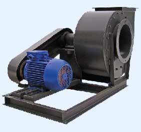 Коррозионностойкие и взрывозащищённые промышленные вентиляторы