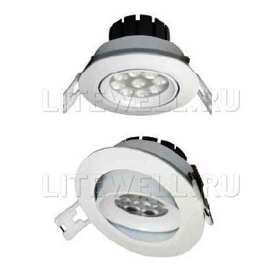 Светильники поворотные светодиодные. Потолочные точечные светильники локального освещения. Надежность!
