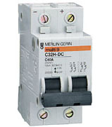 Автоматические выключатели Schneider Electric серии C32H-DC
