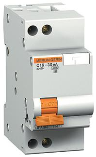 Дифференциальные автоматические выключатели Merlin Gerin, серия АД63